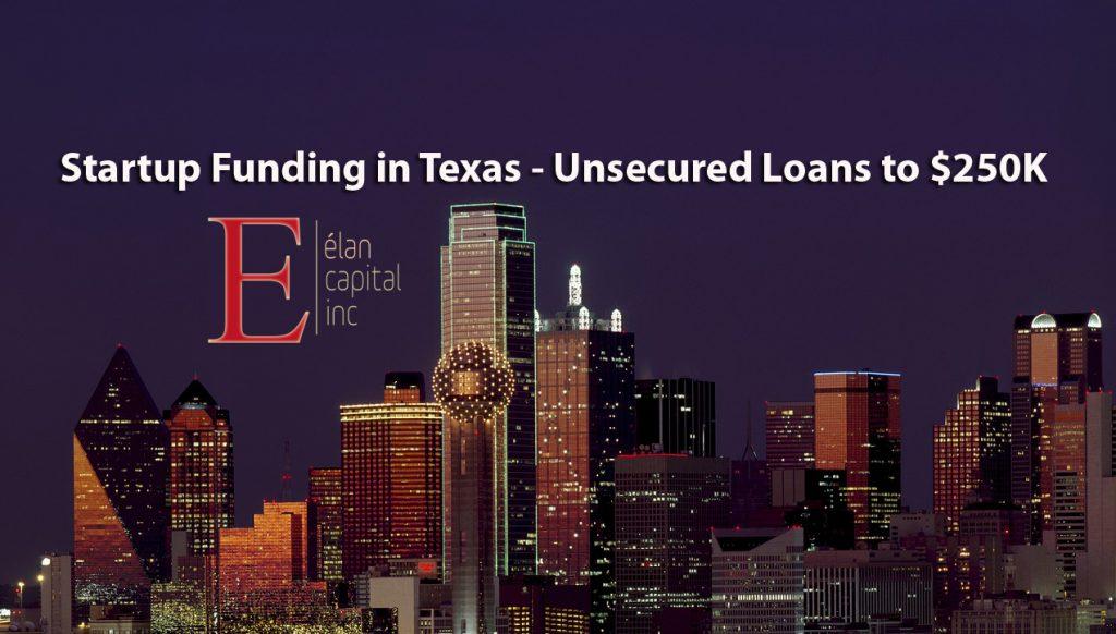 Startup Loans in Texas - Elan Capital