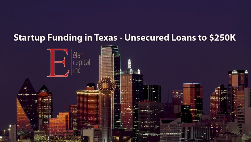 tartup Funding and Startip Loans in Texas