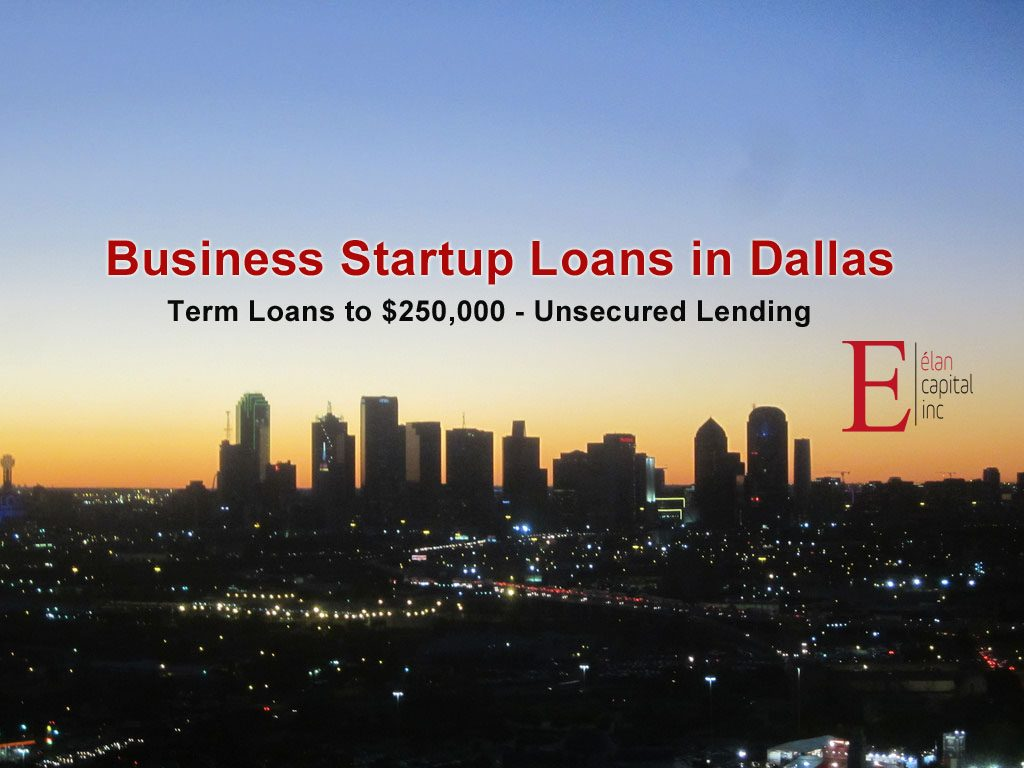 Business startup loans in Dallas