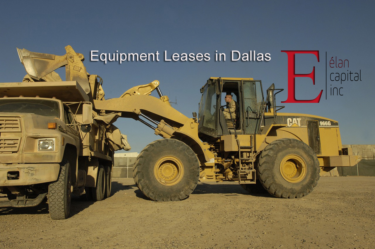 Small Business Lending in Irving - Equipment Leases