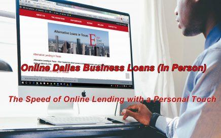 Online Dallas Business Loans