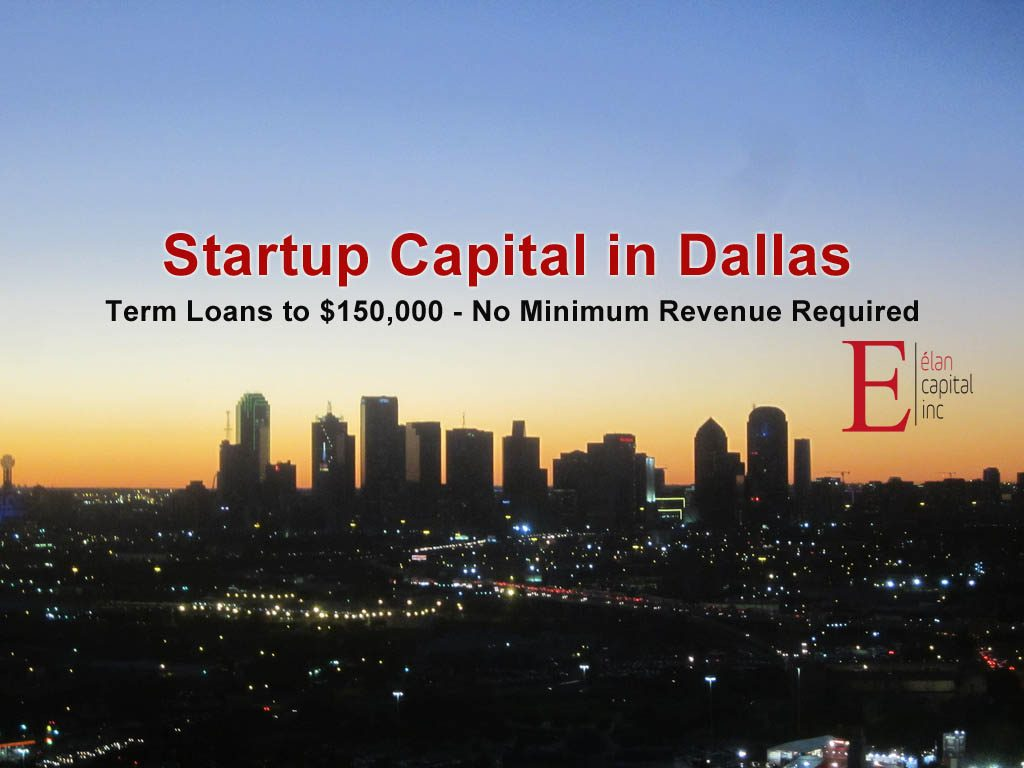 Startup Financing in Dallas - Startup Capital in Texas