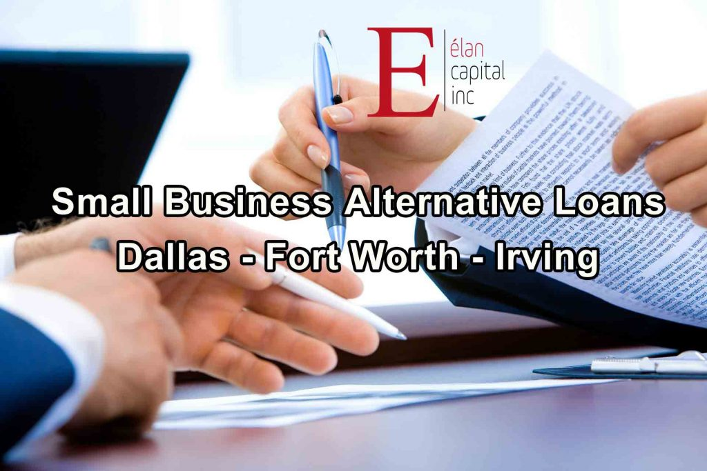 Small Business Alternative Loans - Dallas - Fort Worth - Irving