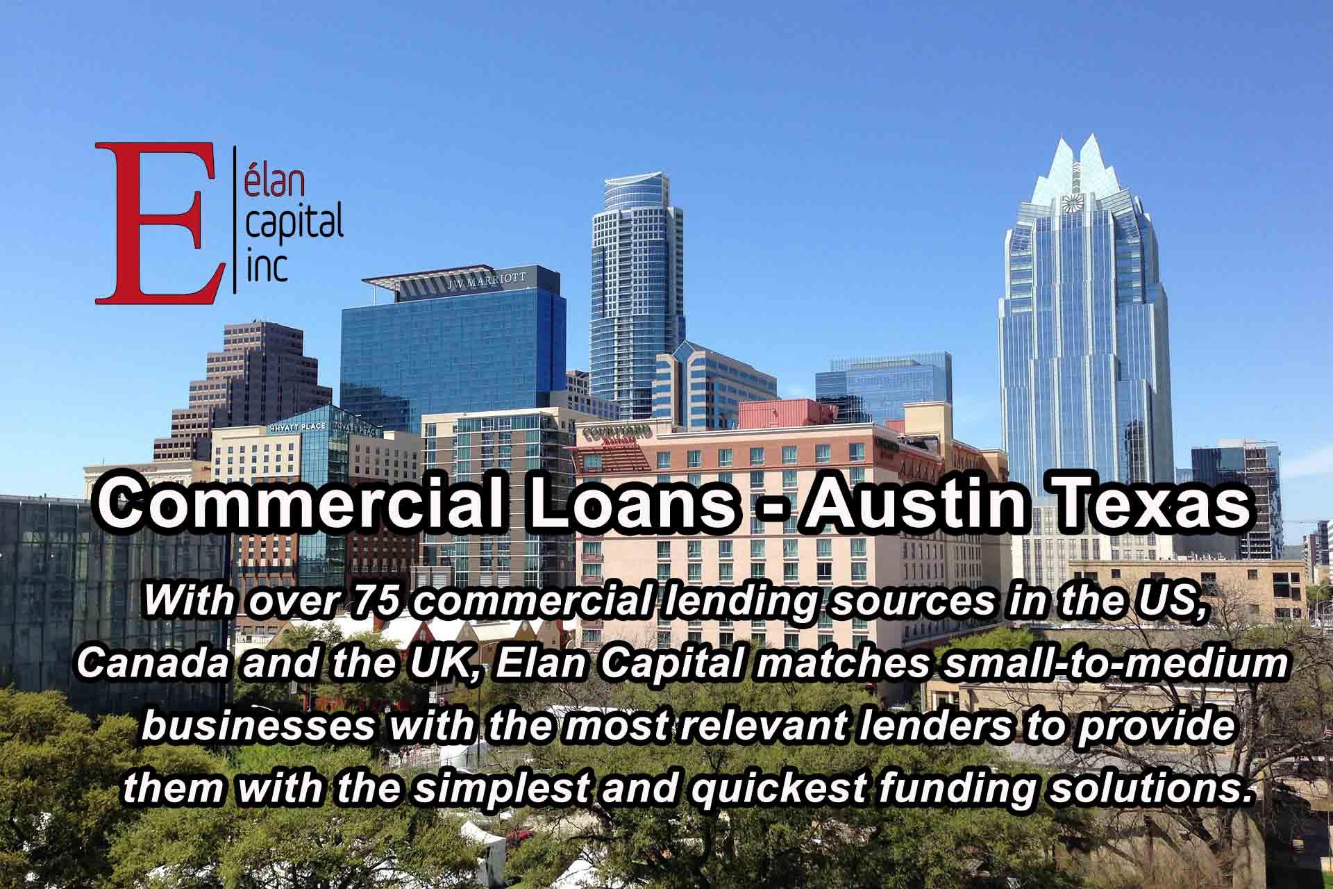 Commercial Loans - Austin Texas