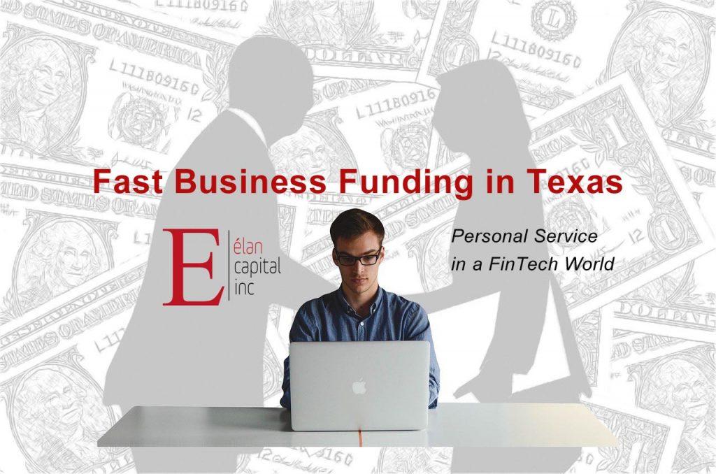 Small Business Funding in Texas - Elan Capital Inc