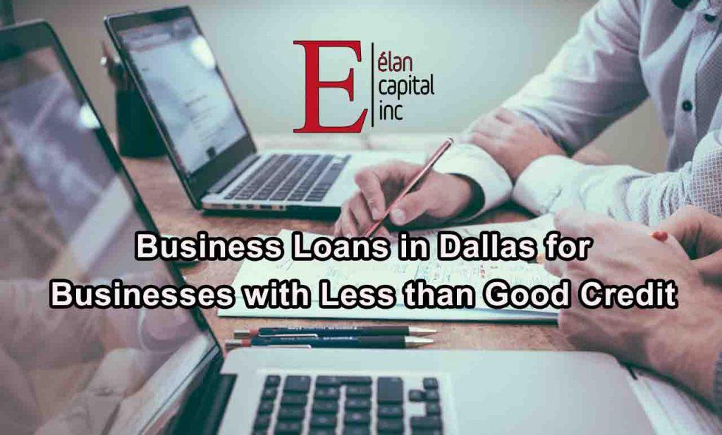 Business Loans Bad Credit Dallas