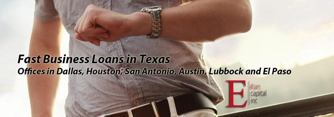 Fast Business Loans in Texas - Elan Capital Inc
