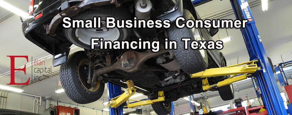 Small Business Consumer Financing in Texas - Elan Capital