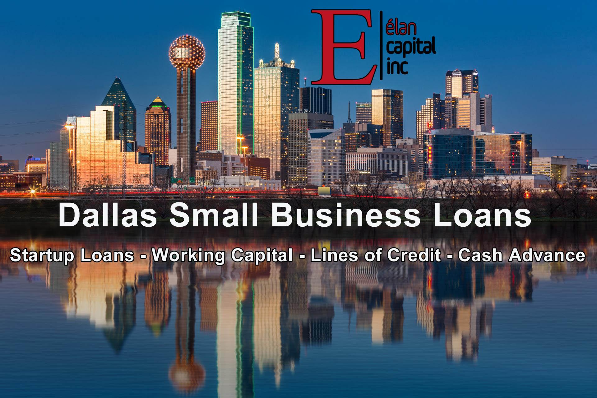 Dallas Small Business Loans