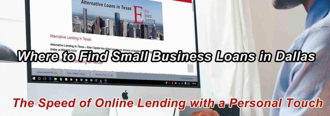 Where to Find Small Business Loans in Dallas